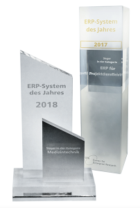 oxaion Easy Medizintechnik-ERP-System des Jahres